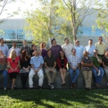 Some of the Blue Oak Energy team in Davis, CA