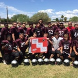 NextCare Urgent Care photo: Supporting the Imagine Prep Superstition Campus football team in Apache Junction!