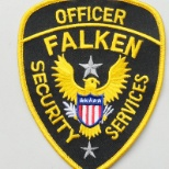 Falken Industries, LLC photo: Falken Security Officer Patch