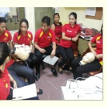 Hands on training of some beauty Machine company