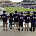 AMPTHINK photo: With the AmpThink crew before a TCU game.