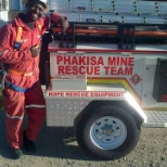Vent Shaft rehabilitation project at Harmony's Phakisa 3 shaft _ Redpath sinking contractors