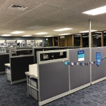 Alpine Power Systems photo: Alpine's main office, featuring our new modernized cubicles.