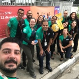 ADP Brazil team participating in spirit week and corporate social responsibility activities
