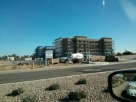 New Staybridge construction in West Chandler, Arizona.