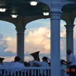 "Historic New England photo: "" The Bandstand"" 
