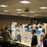 Roseville interns Project Fair