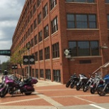 H-D Headquarters on Juneau Avenue in Milwaukee, Wisconsin.