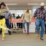 GAF photo: IT Hoedown!