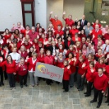 Allegacy Federal Credit Union photo: American Heart Association's National Wear Red Day