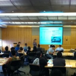 """Lunch and Learn"" training session at our corporate headquarters."