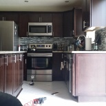 Whigam residence kitchen installation