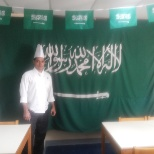 PREPARING FOR SAUDI NATIONAL DAY
