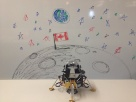 Replica of the moon landing on the 5th floor! *Not historically accurate ;)
