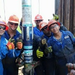 Schlumberger photo: Trabajo  en equipo