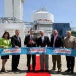 Air Liquide photo: The ribbon cutting ceremony held to open our new Cleburne location
