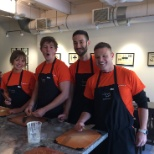 Nuance photo: Team Orange ready for a culinary battle!