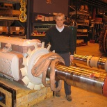 in situ rotor and stator test on new ABB generator