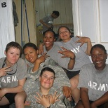 Female search team but most importantly family!