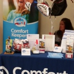 Georgian Triangle Comfort Keepers Booth