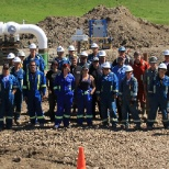 Strike photo: Crew photo for project with TransCanada.
