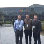 Our Co-CEO's & VP of Operations take a visit to Google HQ