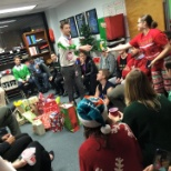 The Invictus Group photo: Christmas White Elephant Gift Exchange