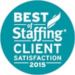 Best of Staffing Client Satisfaction - 2015