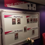 The Wall of Fame!  Celebrating success, reward and recognition