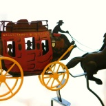 Wells Fargo photo: Our stagecoach
