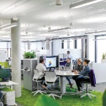 You'll be working in a beautiful, modern, and collaborative environment...