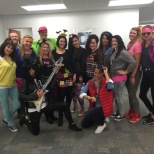 VISTA Staffing Solutions photo: Halloween 2015 - 80's Theme