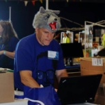 Intel photo: Maker Faire 2014 - an engineer in wolf's clothing