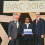 WAC award ceremony