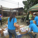 photo of Kelly Services, Kelly employees assist flood victims in Indonesia