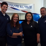 A few team members celebrating Employee Appreciation Day at one of our Underwriting Centers!