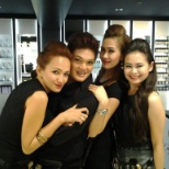 MAC Rustan counter store.