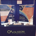 Career Fair Table for Olsson Associates