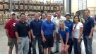 TekStream spends the day helping at the Food Bank!