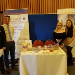 The Anson McCade stand at the Ulster University careers fair