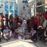 Holiday toy drive at American Traveler