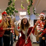 ADS, Inc. films a holiday video each year at headquarters. Teams go ALL out!