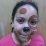 Members enjoy and fun day of face painting