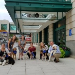 Omni Severin celebrated the Dog Days of Summer with a fund raiser for the local Human Society