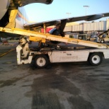 Airport Terminal Services photo: Belt loader