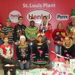 Henkel employees donated winter clothing items to make winter warmer for those in need.