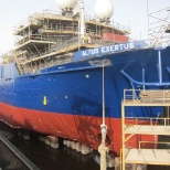 photo of AkzoNobel, COMPLETION OF DRYDOCKING OF A DIVING SUPPORT VESSEL