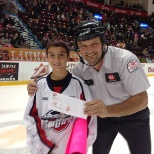 "G&K sponsored the annual Windsor Spitfires ""Stick it to Breast Cancer"" charity OHL hockey game."
