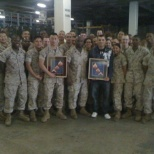 Going away for 2 Marines
