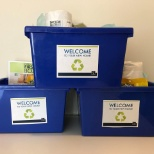 Welcome packages for our new residents!